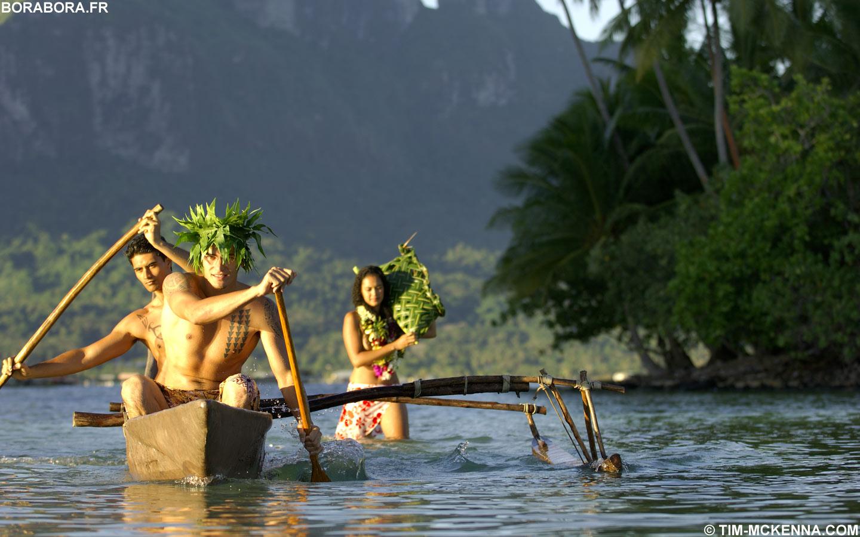 Bora Bora fr Fond d �cran